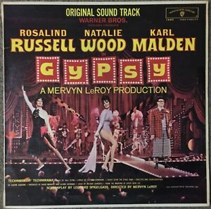 NATALIE WOOD / KARL MALDEN Gypsy -Original Soundtrack NZ Warner Brothers EX/VG++