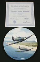 Royal Doulton Hurricane Over The White Cliff's Heroes Over Home Territory plate