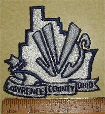 JVS LAWRENCE COUNTY OHIO JACKET PATCH