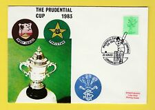 CRICKET - STAMP COVER - PRUDENTIAL CUP -  WEST  INDIES  V  PAKISTAN  -  1983