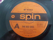 MY WORLD // THE BEE GEES OZ POP SPIN 1972