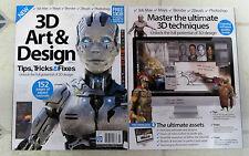 3D ART & DESIGN Book TIPS Tricks FIXES New For 2016 + 13GB DOWNLOAD ZBrush MAYA