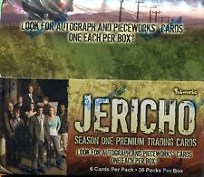 Jericho Season 1 Factory Sealed Hobby Box 36 Packs