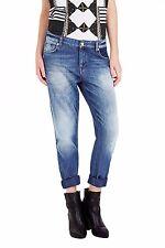 SASS & BIDE Washed Vintage Blue Tiger Sun Boyfriend Denim Jeans 26 RRP290 NWOT