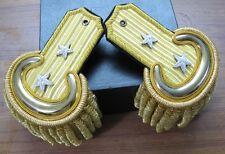 Civil War Major General Embroidered Shoulder Epaulets w/Case