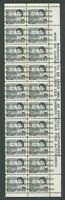 CANADA #460fpxx MINT WARNING STRIP OF 20