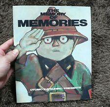 Otomo Katsuhiro Presents Anime The Memory Of Memories Making Book Japan Akira