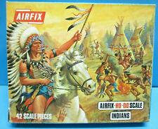 AIRFIX S8-59 1/72 scale INDIANS 2nd 1970 BLUE BOX EDITION 42 pcs SET EXC MIB