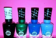 BRAND NEW! ((4)) Sally Hansen MIRACLE GEL Nail Polish Colors NO REPEATS!