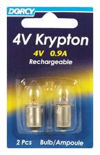 Dorcy  Krypton  Flashlight Bulb  4 volt Bayonet Base
