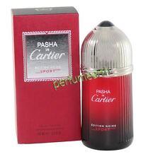 Pasha De Cartier  Sport Noire By Cartier 3.3/3.4ozEdt Spray For Men New In Box