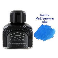 Diamine Fountain Pen Bottled Ink, 80ml - Mediterranean Blue