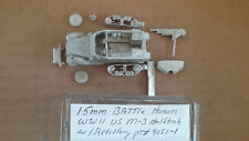 15mm Battle Honors  WWII US M-3 Halftrack w/ Artillery