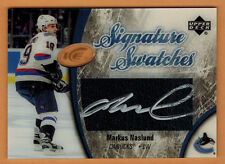 2005-06 , UPPER DECK , ICE , MARKUS NASLUND , SIGNATURE SWATCHES , AUTO , JERSEY