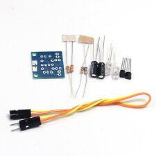 2PCS DIY Kit 5MM LED Simple Flash Light flash Circuit Production Suite PCB board