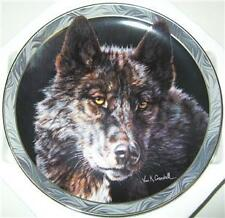 VIVI CRANDALL MYSTIC SPIRITS WOLF PLATE KEEPER 4TH  ISS