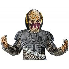 Predator Mask Adult Mens AVP Requiem Fancy Dress Halloween Costume Accessory