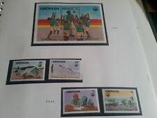 GRENADA 1985 SG 1440-1443 & MS1444 FOURTH CUBOREE  MNH