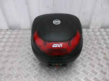 GIVI 34 LITRE MOTORCYCLE MOTORBIKE TOP BOX WITH KEYS