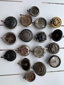 Gramophone phonographe :   17 Têtes De Lecture  Anciennes   Aiguilles-saphirs .