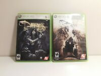 The Darkness I and II Bundle Xbox 360 Clean and Tested!