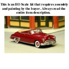 "HO SCALE: 1949 OLDSMOBILE ""ROCKET 88"" CONVERTIBLE - SYLVAN - KIT V-169"