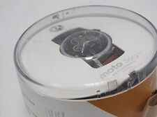 Motorola Moto 360 2nd Gen 46mm Men's Android Wear Smartwatch - Cognac Leather