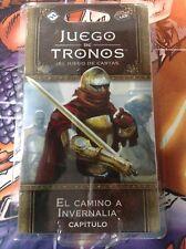 El camino a Invernalia / Poniente (Juego de tronos LCG 2ª Edición)