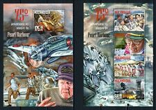 MOZAMBIQUE 2016 PEARL HARBOUR 75 WAR WWII MILITARY AIR BOMBING USS STAMPS MNH**