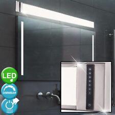30W LED Wand Leuchte Bade Zimmer Küchen Lampe silber Touch Dimmer Spiegel Licht