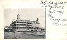 Ocean City New Jersey Historic Bldg Street View Antique Postcard K53671