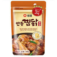 Korean Traditional SEMPIO Andong JJimdak Chicken Simmer Sauce 210g 3~4servings