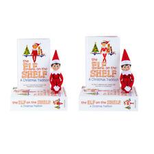 EXCLUSIVE BUNDLE Elf on the Shelf®  Light skinned Scout Elf Boy & Girl together