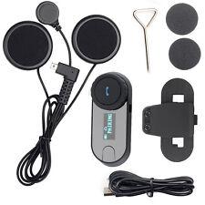 800M LCD Flexible Wire Bluetooth Intercom Motorbike Ski Helmet-to-helmet talking