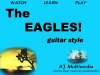 Custom Guitar Lessons, Learn Eagles DVD