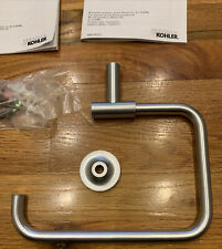 Kohler 14441-G Purist Hand Towel Ring Brushed Chrome Unused Open Box