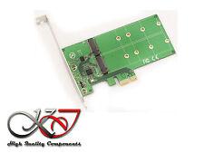 Scheda Controller PCIe per SSD M.2 - 2 porte (per SSD M2 tipo SATA)