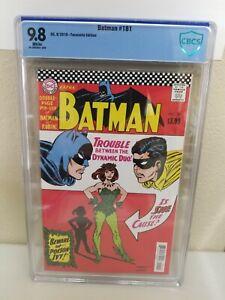 Batman #181 NM/M 9.8⛓️High Grade🔥Facsimile 1st Poison Ivy High Grade DC Key 🔑