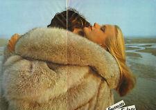 Publicité 1980 (Double Page) FOURRURES SPRUNG FRERES  pret à porter collection
