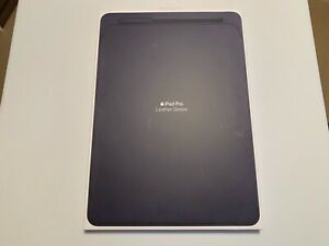 Apple Leather Sleeve for 12.9?inch iPad Pro - Midnight Blue