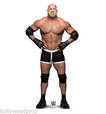 GOLDBERG WWE PRO WRESTLER LIFESIZE CARDBOARD STANDUP STANDEE CUTOUT POSTER PROP