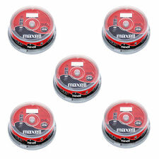 50 Maxell DVD-RW (6x) 4.7 GB DVD Re-writable 120Min (5x10 Spindle) 275892