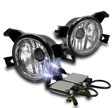 CHROME BUMPER FOG LIGHT LAMP+HARNESS+10000K HID FOR 2005-2006 ALTIMA/2004+ QUEST