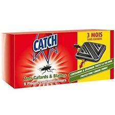 CATCH Set de 6 Contaminateurs Anti-cafards - Détruit tout le nid.