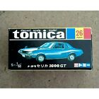 Tomica Toyota Celica 1600 Gt Black Box from japan