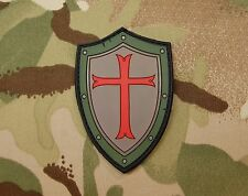Platatac Crusader Shield Morale Patch Infidel Christian SEAL Green Beret