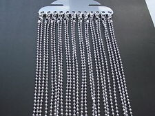 UK Wholesale Jewellery 48 Pcs 20 inch Silver Ball Bead Necklace Pendant Chain