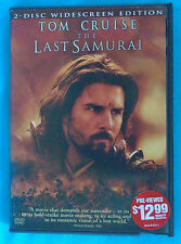 THE LAST SAMURAI Tom Cruise & Ken Watanabe, 2-Disc widescreen historic Japan DVD