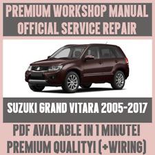 *WORKSHOP MANUAL SERVICE & REPAIR GUIDE for SUZUKI GRAN VITARA 2005-2017 +WIRING