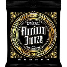 Ernie Ball Aluminium Bronze 12-54 2566, Med Light